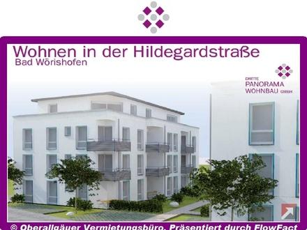Neubau/Erstbezug-3-Zimmer-Penthouse-Wohnung in Bad Wörishofen mit Süd-Balkon (Whg. 10/Haus A)
