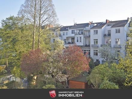 Barkhof / Klassisches Altbremer Haus in Bürgerparknähe