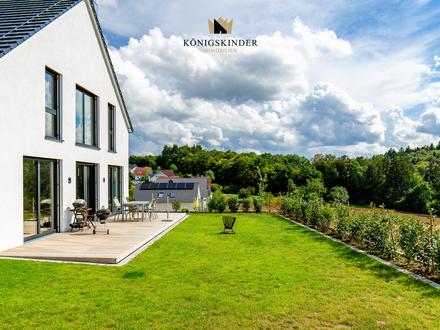 Neuerbautes Architektenhaus im Bauhausstil für gehobene Ansprüche in unverbaubarer Aussichtslage
