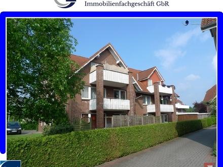 4 Zimmer-Dachgeschosswohnung mit Balkon in Westerstede