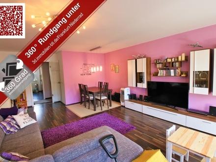 Großzügige 3-Zimmer-Wohnung mit Balkon in Frankfurt Niederrad (Erbpacht) !