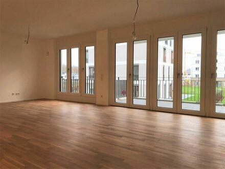 Moderner ERSTBEZUG am RHEINUFER SÜD: großzügige 2-Zimmer-Wohnung mit Südbalkon