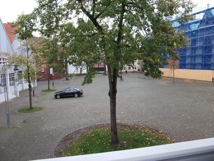 Blick auf den Kirchplatz