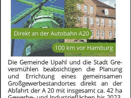 Großgewerbestandort Upahl-Grevesmühlen