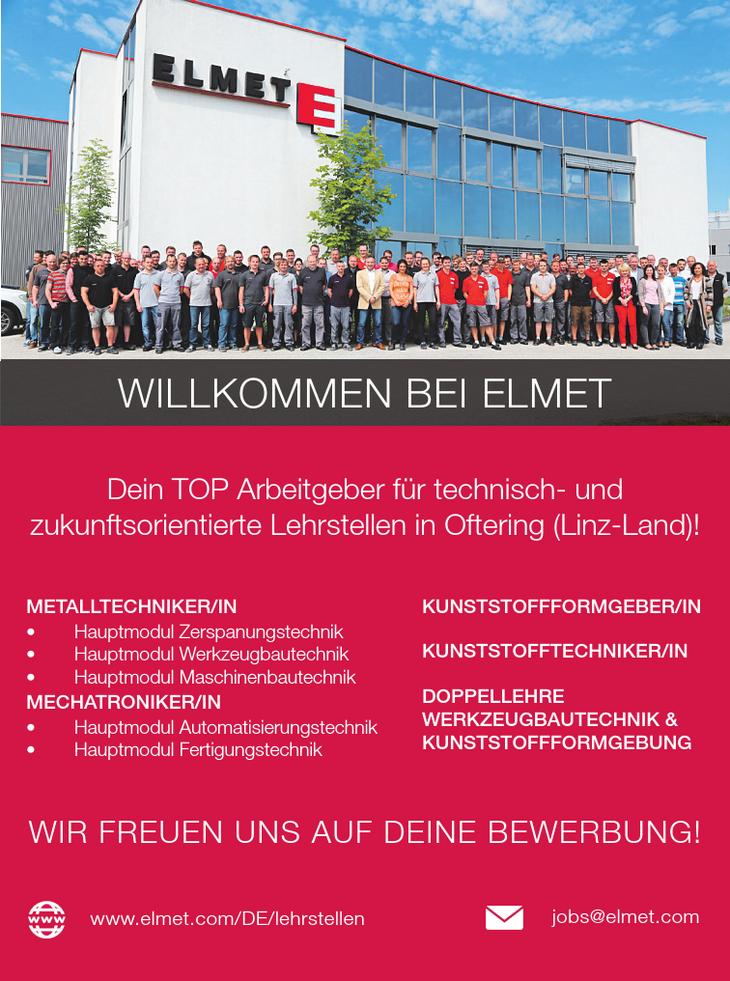 Dein TOP Arbeitgeber für technisch- und zukunftsorientierte Lehrstellen in Oftering (Linz-Land)!