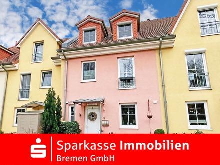 Architekten Reihenmittelhaus mit Garten in landschaftlicher Idylle von Ritterhude