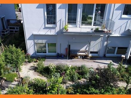2-Zimmer-Wohnung mit Garten und Terrasse Südausrichtung, Aufzug, Tiefgarage, S-Bahn-Haltestelle nur wenige Gehminuten entfernt,...