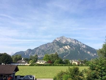 Aussicht zum Untersberg