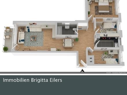 Zum 01.12.: Praktische 4 Zimmer-Wohnung in guter Lage von Verden- Dauelsen!
