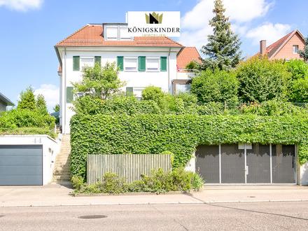 3 Zi.-EG-Wohnung mit Terrasse und Garten in Fellbach-Schmiden. Ideal geeignet für ein Paar.