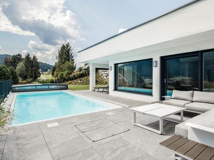 Möblierte Neubauvilla mit Pool und SPA-Bereich