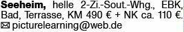 2-Zimmer Mietwohnung in Seeheim (64342)