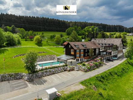 Gut eingeführtes Hotel mit Restaurant und neuem Wellness Bereich bei St. Georgen im Schwarzwald