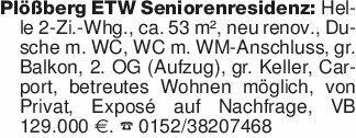 Plößberg ETW Seniorenresidenz:...