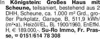 In Königstein: Großes Haus mit...