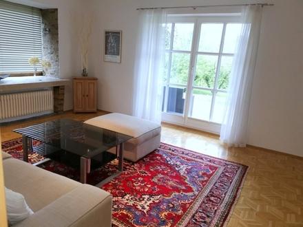 Voll möblierte 2 Zimmerwohnung mit Terrasse und Parkplatz- ruhige Grünlage Aigen