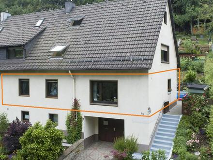 Die Alternative zum Einfamilienhaus! Erdgeschosswohnung mit großem Grundstück in Lüdenscheid