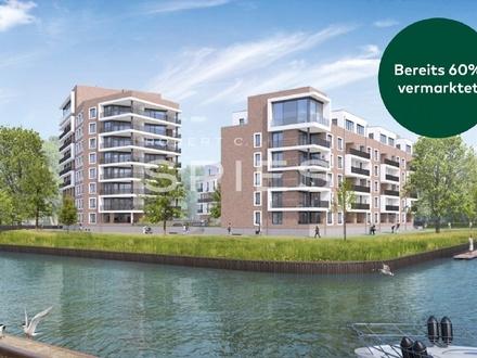 Dreifache Wasserlage im Herzen Oldenburgs - Neubau-Eigentumswohnungen Deepskant