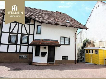 2-Fam.-Haus im Altstadtbereich von Bruchköbel in ruhiger Lage (Sackgasse)