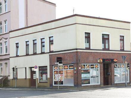 TT Immobilien bietet Ihnen: Verkehrsgünstig gelegenes Wohn- und Geschäftshaus in Wilhelmshaven!