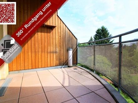 Schöne 3 Zimmer-Maisonette mit ausgebautem Dachstudio u. Dachterrasse - mit Garagenstellplatz
