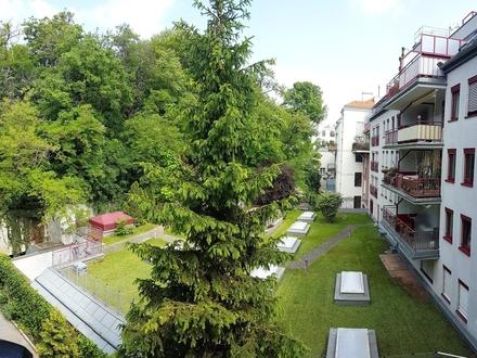 Erstbezug Altbau nach Sanierung mit Grünblick - 3 Gehminuten von der U4 Heiligenstadt!