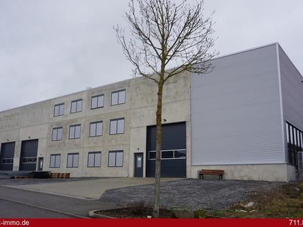 ***Neuwertige Industriehalle mit Produktionsfläche, Lager-/Logistikfläche und Büro, Baujahr 2018***