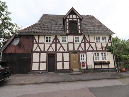 Denkmalgeschütztes Fachwerkhaus in Kreuztal-Littfeld