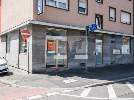 MA-Käfertal: Ladenfläche - frisch renoviert - in präsenter Ecklage