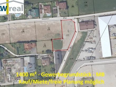 Vorchdorf - 1.400 m² großes MB Gewerbegrundstück im Herzen Oberösterreichs mit guter Autobahnanbindung