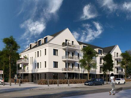 3-Zimmer-Wohnung mit Loggia und Wannenbad im Dachgeschoss