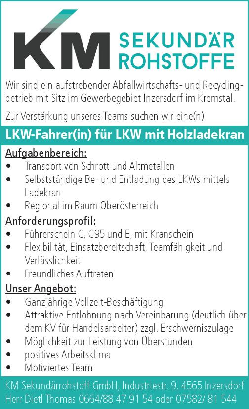 Wir sind ein aufstrebender Abfallwirtschafts- und Recyclingbetrieb mit Sitz im Gewerbegebiet Inzersdorf im Kremstal.