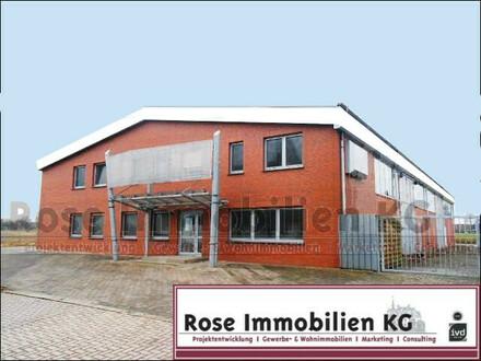 ! ROSE IMMOBILIEN KG: Top Gewerbeobjekt für verschiedenste Gewerke mit Büro und Betriebswohnung