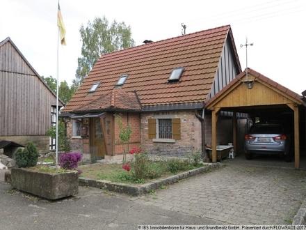 Schnuckeliges Einfamilienhaus detailverliebt saniert - ideal für die kleine Familie