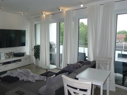 Hochwertige 2-Zimmer-Neubauwohnung mit Südbalkon und Fahrstuhl in Innenstadtlage von GT