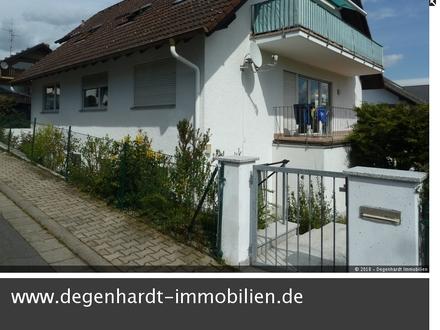 Helle, gepflegte 2 Zimmer Wohnung mit kleinem Gartenanteil in ruhiger Reinheimer Wohnlage