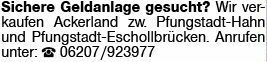 Freizeitimmobilie gewerblich in Pfungstadt (64319)