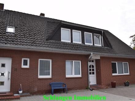 Objekt Nr: 00/635 Modernisierte Oberwohnung mit Carport in Barßel / OT Harkebrügge