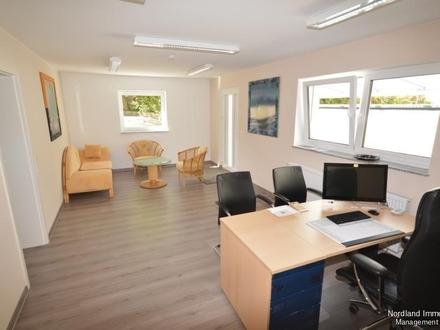 Modernisierte Bürofläche in zentraler Lage mit großer Schaufensterfront