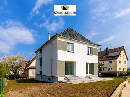 2-Familienhaus im Neubaustandard mit 253m2 Wohn-und Nutzfläche - Großer Garten - Auch sehr gut zur Kapitalanlage geeignet,…