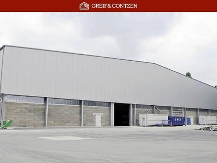 Neubauhalle mit BImSchG-Genehmigung