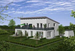 Moderne Einfamilienhäuser (DHH)