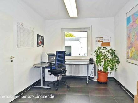 3 Büros mit Halle und Sozialräumen + Stellplätze - sehr gepflegt!