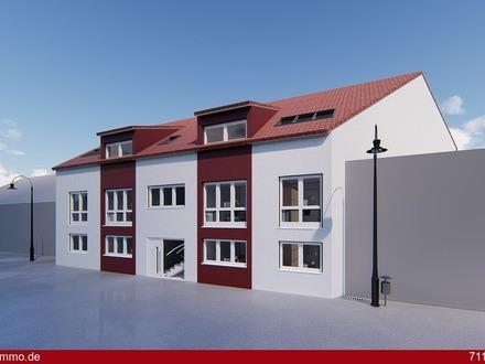 * LEBENSQUALITÄT - Wohnen in der Stadtmitte - NEUBAU EINES 6-FAMILIENHAUSES - inkl. TG-Stellplatz *
