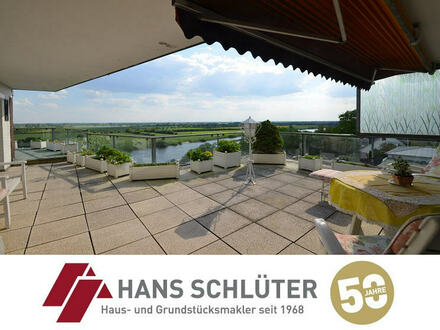 5-6 Zimmer-Eigentumswohnung mit Traumblick auf die Weser!!