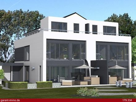 Die RIESEN-Doppelhaushälfte mit Sonnen-Garten und Ruhe!