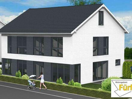 Fertigstellung im Juli 2020 - Doppelhaushälfte mit Stadtbahnanschluss