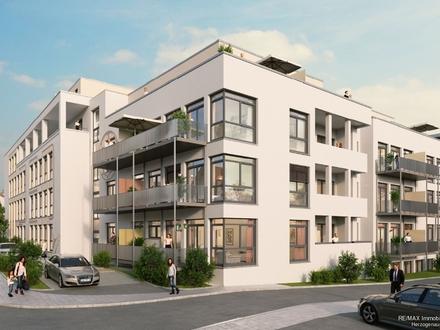 Herzogenaurach City! 5-Zimmer-Penthouse-Wohnung mit Dachgarten! (Whg. 3.97)