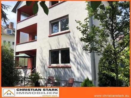 Wohnen und Arbeiten auf 258 m², mit viel Grün, fußläufig in die City und zum Bahnhof!