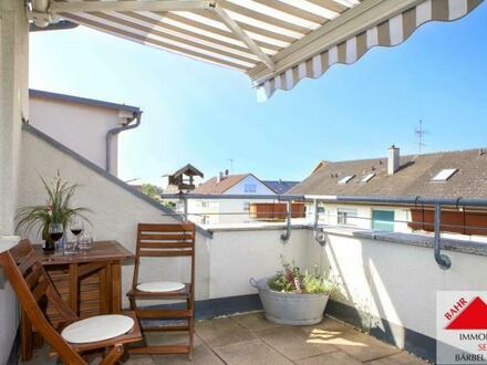 Reinkommen-Ankommen, schicke Dachgeschoss-Wohnung